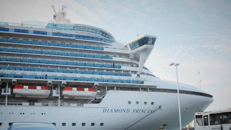 Cruising Ship Diamond Princess