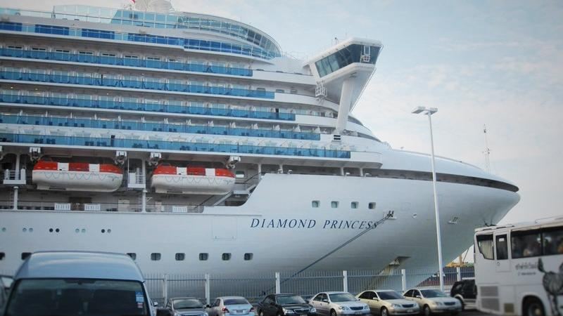 Diamond Princess in Bangkok